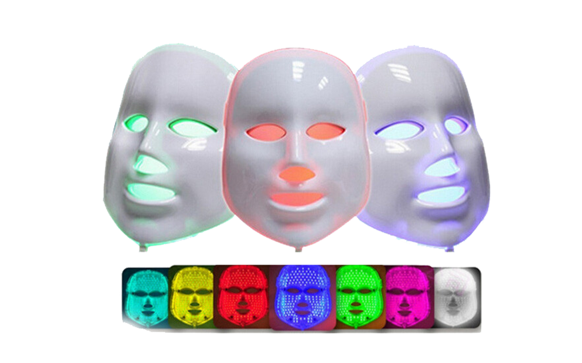 LED Therapie Masker
